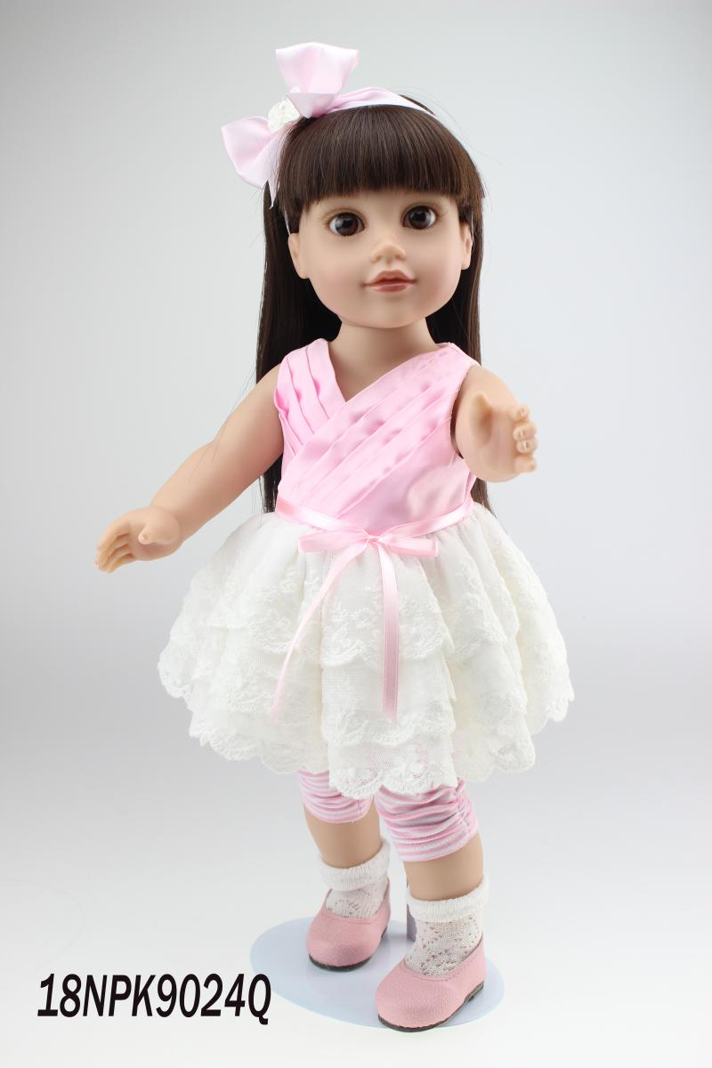 Wholesale 45cm Cheap Reborn Baby Dolls Stand Up Baby Doll