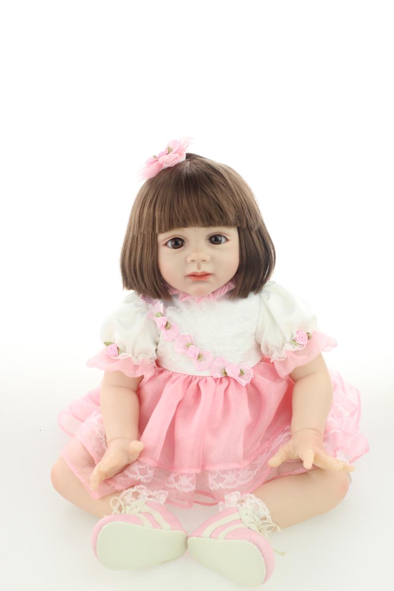 New Hotsale Lifelike Reborn Toddler Doll Wholesale Gentle