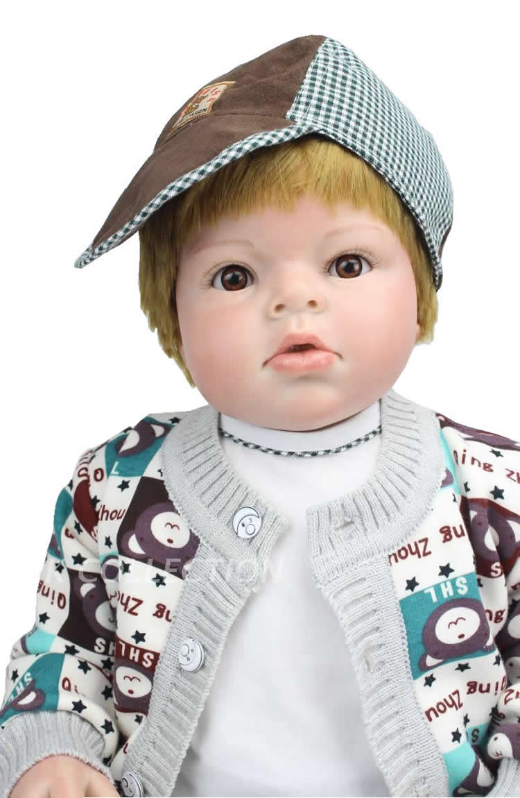 2015 Latest 70cm Silicone Lifelike Reborn Babies For Sale